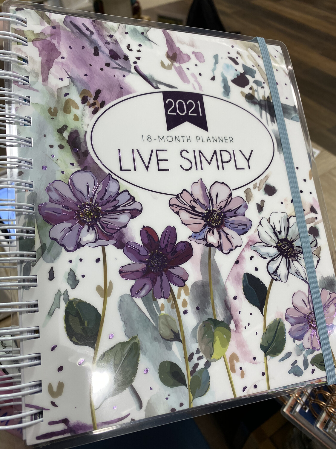 18 Month Planner, Live Simply