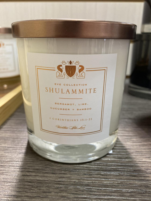 "Veritas Candles ""Shulammite"" (Wht)"