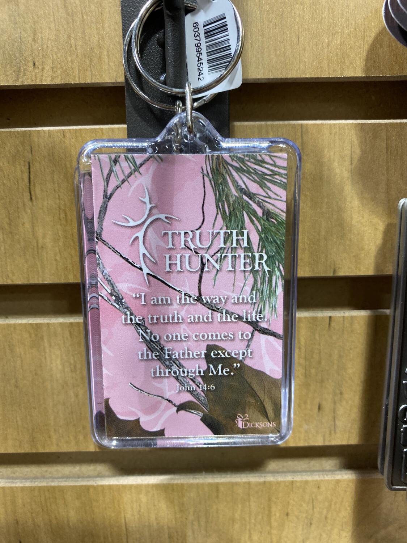 Keychain, Truth Hunter Pink