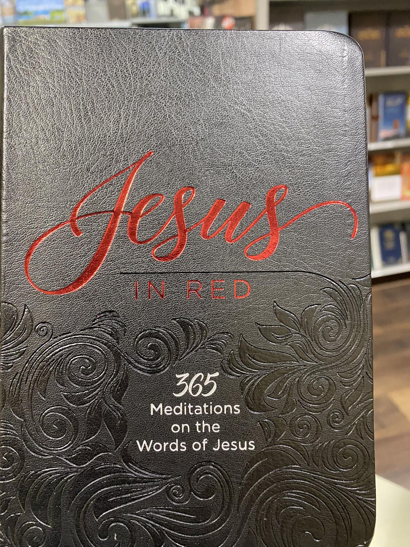Jesus In Red Devotional
