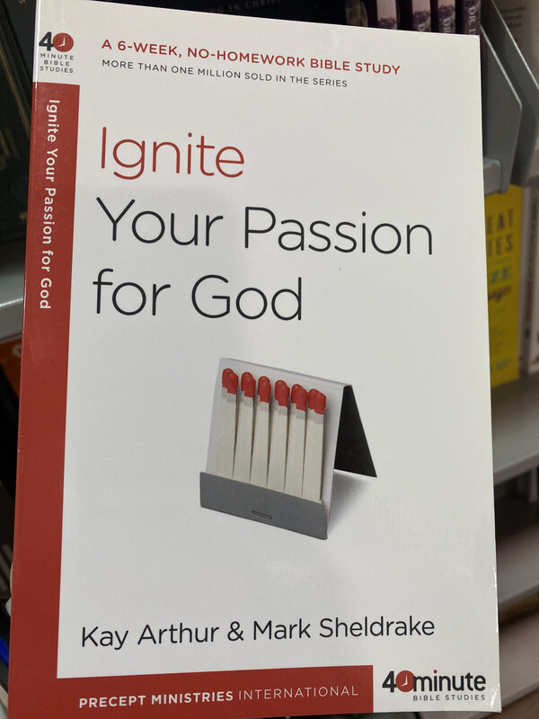 ARTHUR, Ignite Your Passion For God