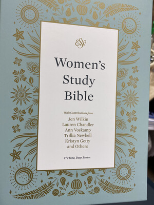 ESV, Women's Study Bible, Trutone, Deep Brown