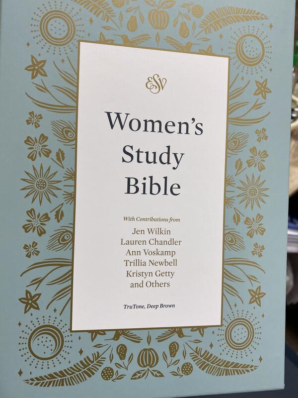 ESV, Women's Study Bible, Trutone, Deep Brown
