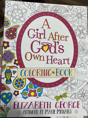 GEORGE, A Girl After God's Own Heart, Coloring Book