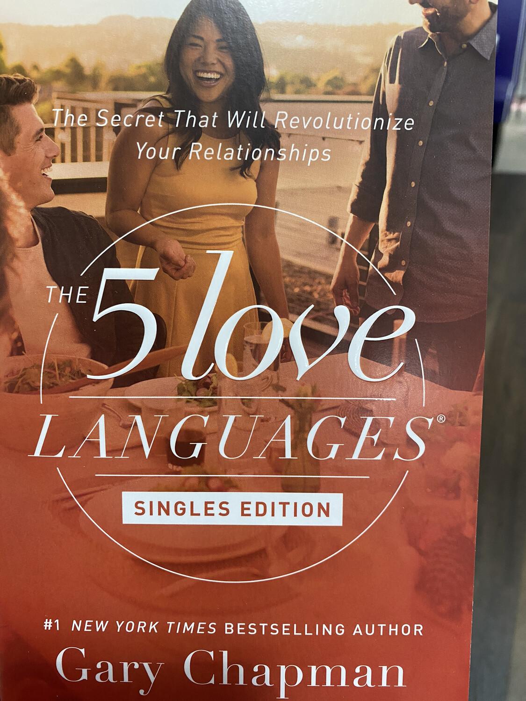 CHAPMAN, The 5 Love Languages, Singles Edition
