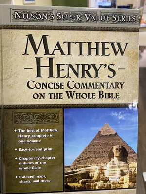 HENRYS, Concise Commentary On The Whole Bible