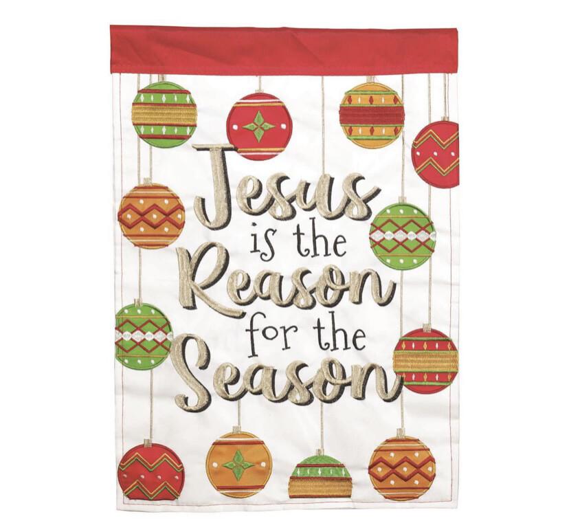 Jesus Is The Reason, 13x18 Garden Flag