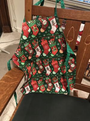 Child's Apron, Christmas Stockings