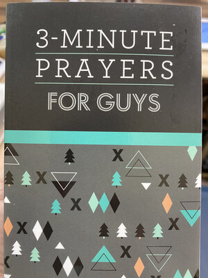 3 Minutes prayers For Guys