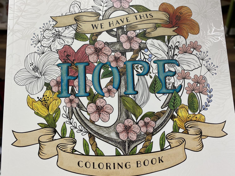 Hope, Coloring Book