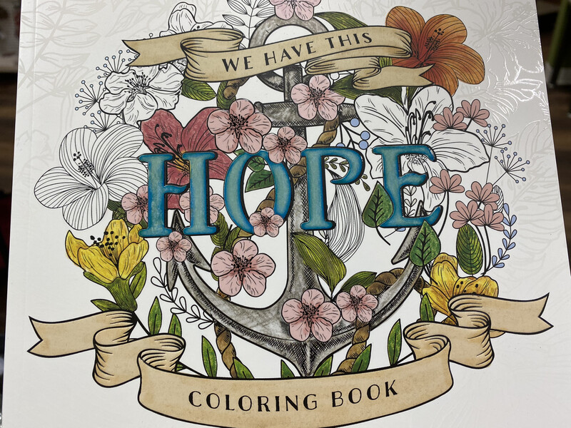 Hope, Coloring Book