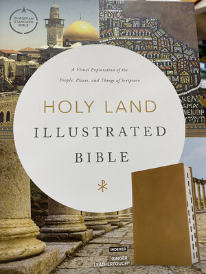 CSB, Holy Land Illustrated Bible