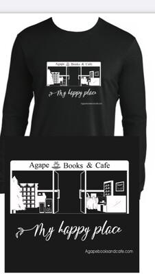 Agape - Happy Place /Med. (Lng Slv Anvil Jersey)
