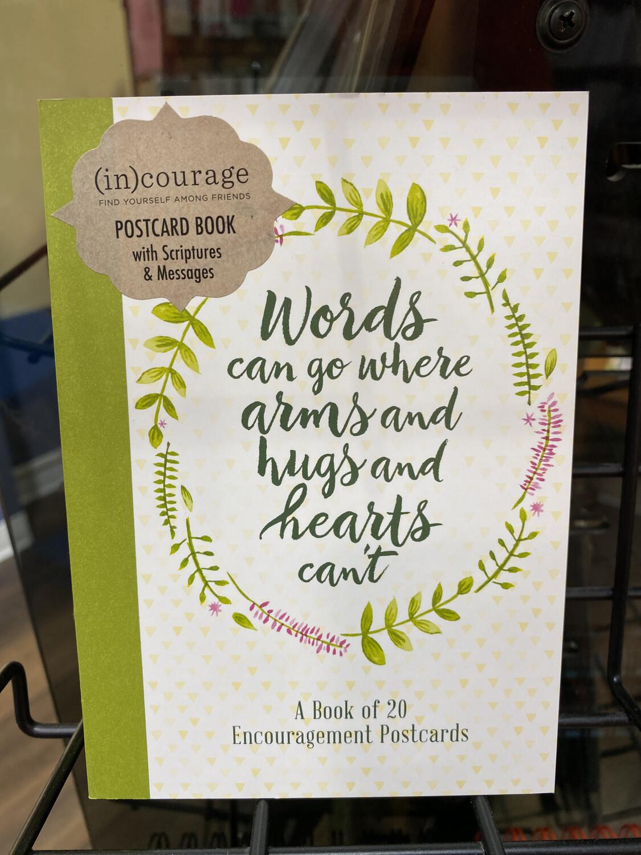 Book Of Encouragement Postcards