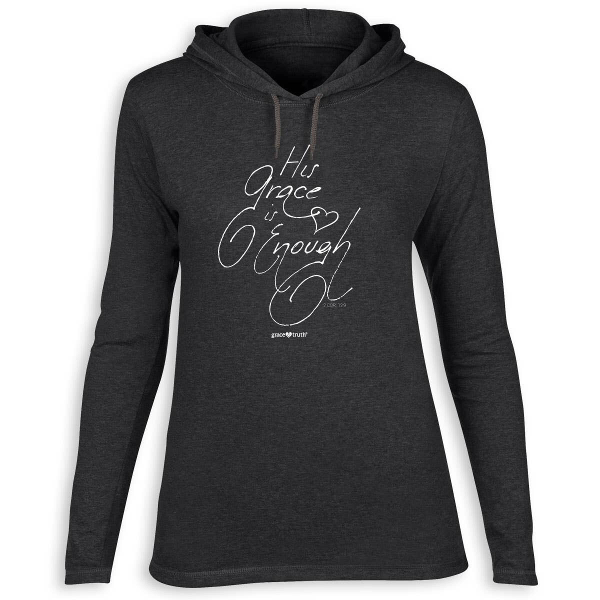 His Grace Is Enough, Hooded T-shirt, LRG