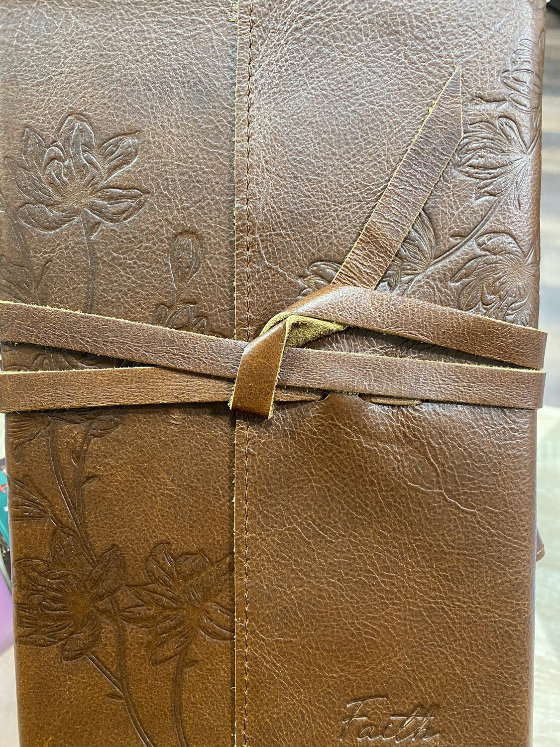 Faith Leather Journal