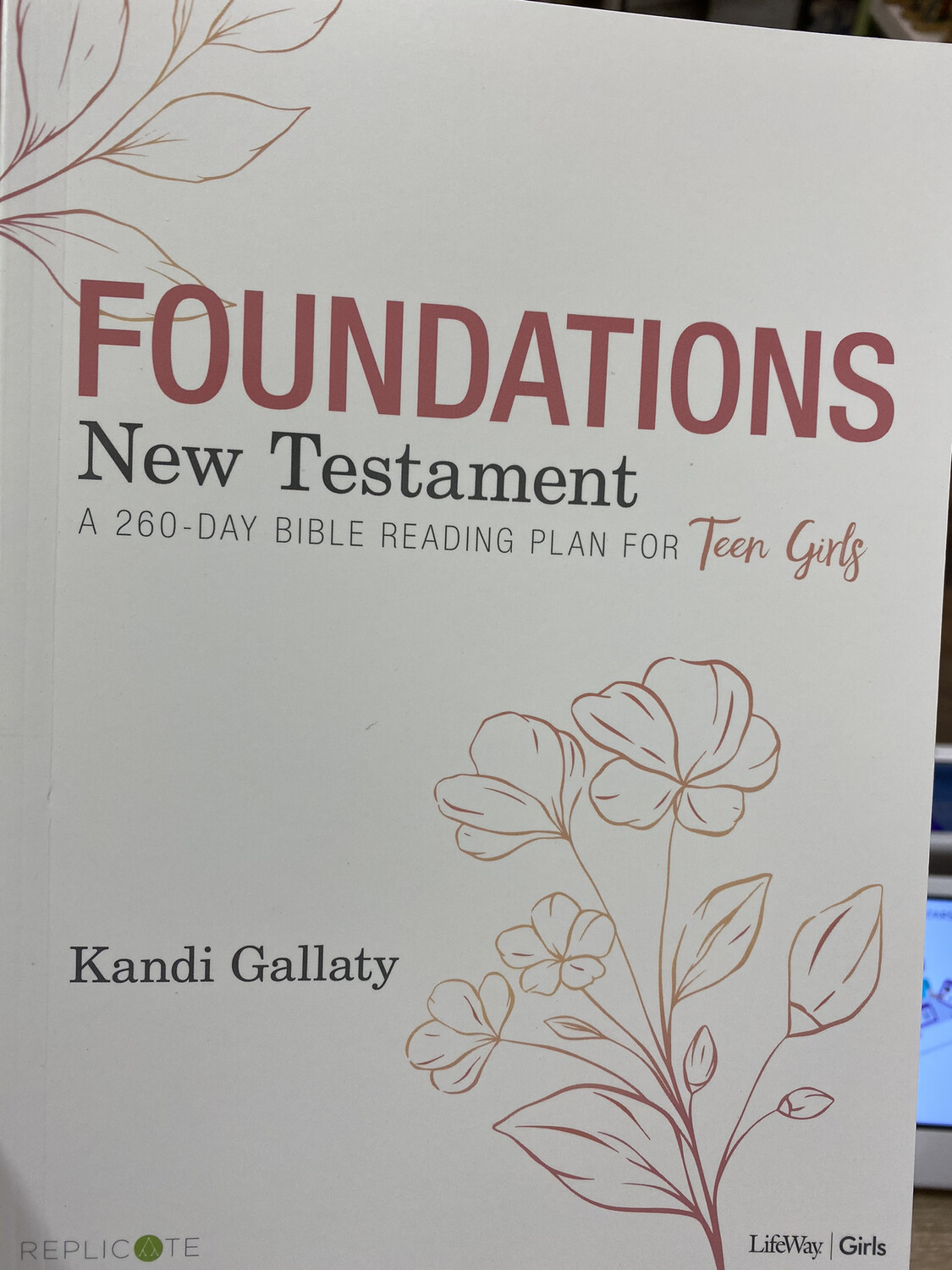 GALLATY, Foundations, New Testament, 260 Day Bible Reading For Teen Girls