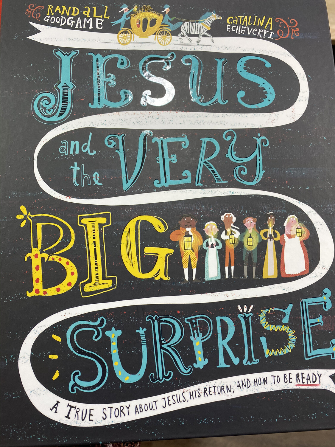 GOODGAME, Jesus And The Very Big Surprise