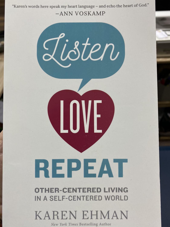 EHMAN, Listen Love Repeat