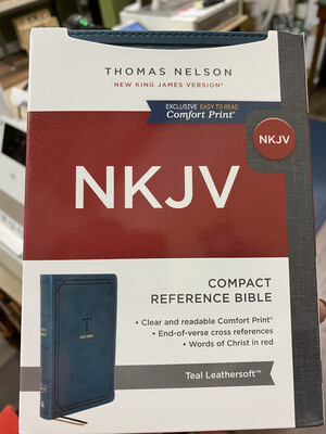 NKJV, Compact Teal