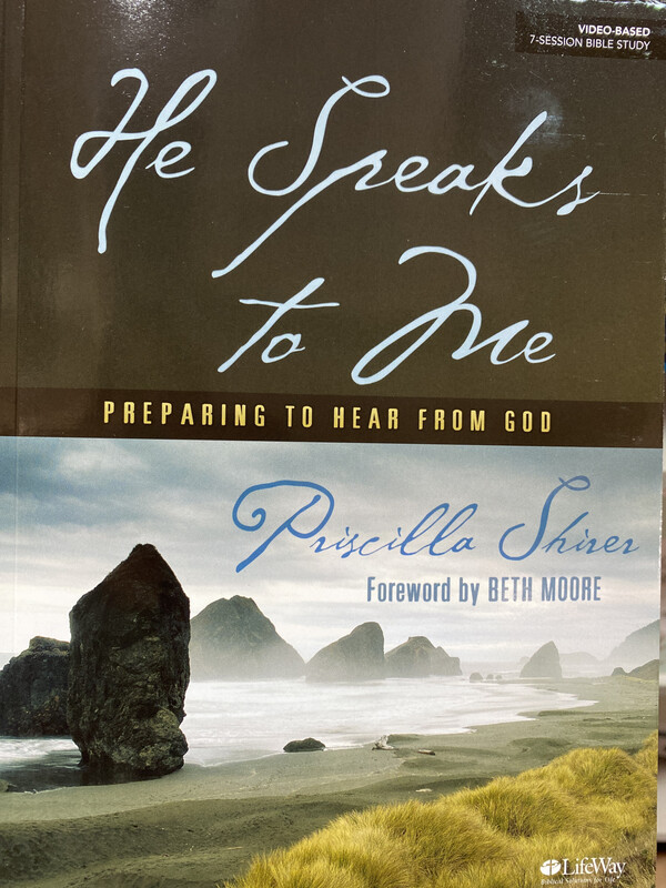 SHIRER, He Speaks To Me, Bible Study Book