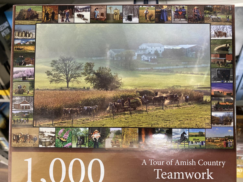 Puzzle, 1000 Piece Teamwork