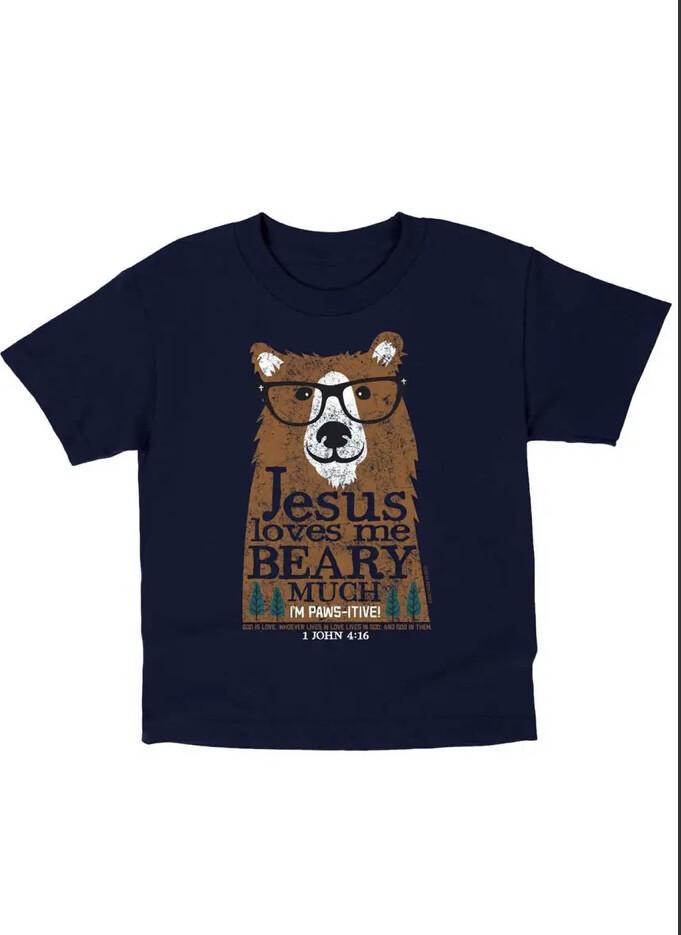 Beary Much Tshirt, 4T