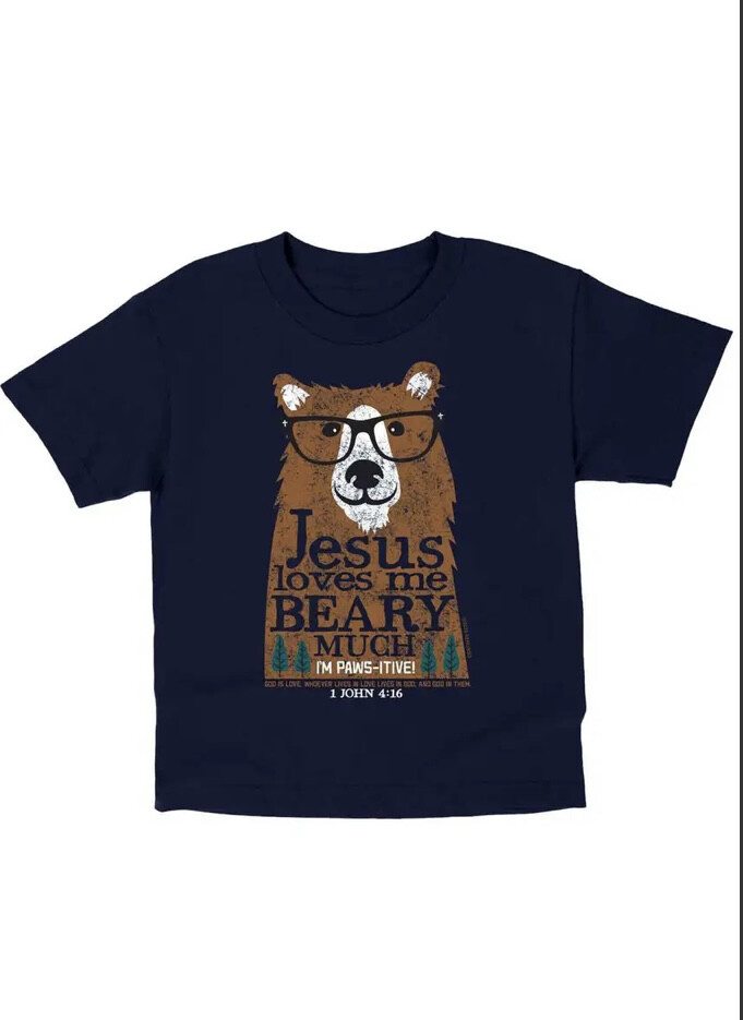 Beary Much Tshirt, Large