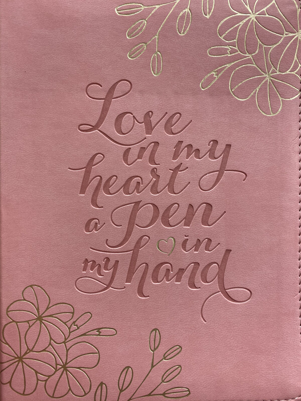 Journal, Love In My Heart Pink
