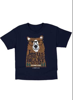 Kid's Beary Much Small Tshirt