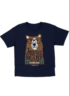 Beary Much Tshirt, Medium