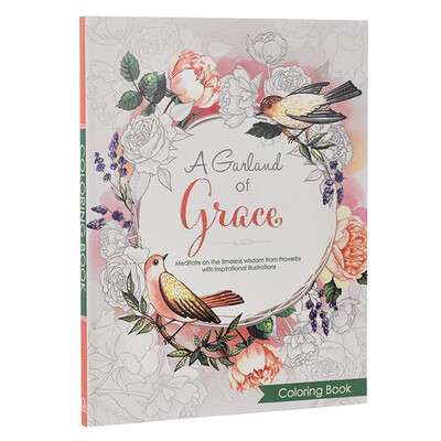 Coloring Book, A Garland Of Grace