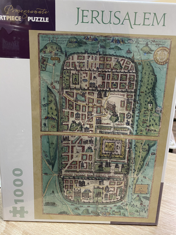 Puzzle 1000 Piece Jerusalem