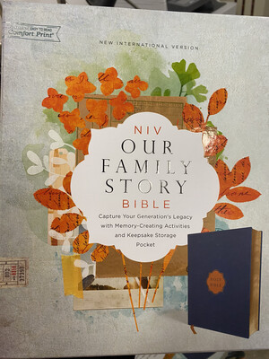 NIV, Our Family Story Bible