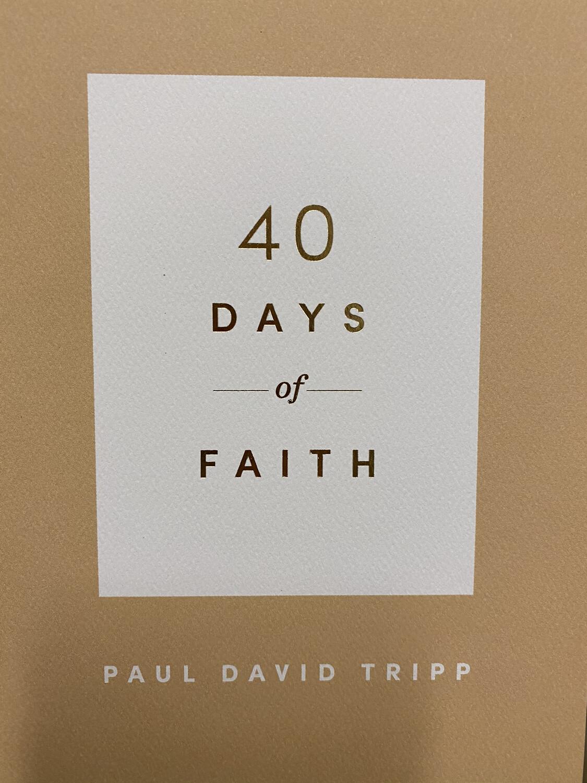 TRIPP, 40 Days Of Faith