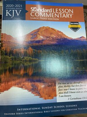 KJV 20/21 Standard Lesson Commentary