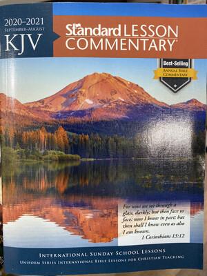 KJV, 20/21 Standard Lesson Commentary
