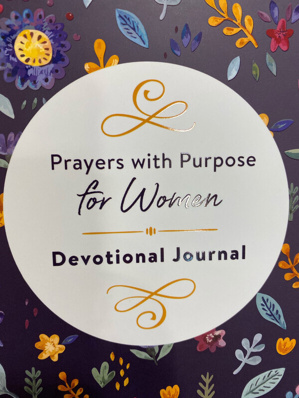 Prayers With Purpose For Women, Devotional Journal