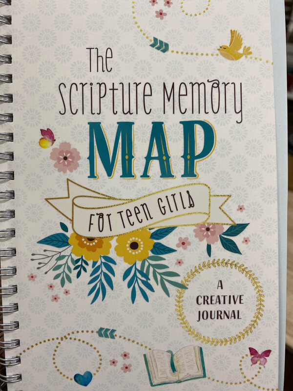 The Scripture Memory Map For Teen Girls