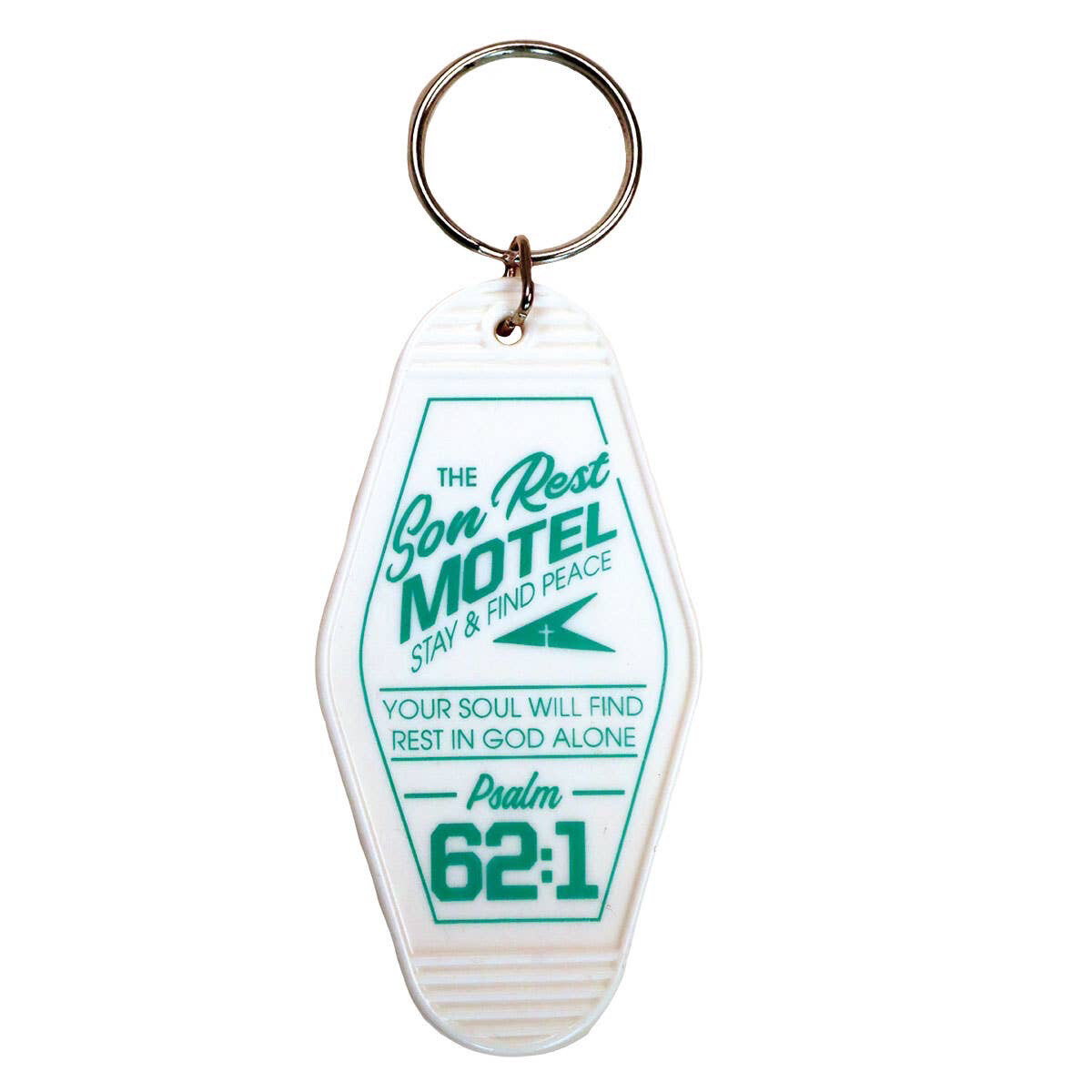 The Son Rest Motel Keychain