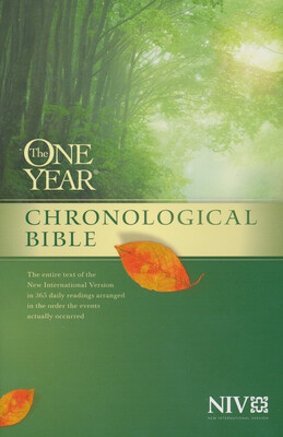 NIV, The One Year Chronological Bible