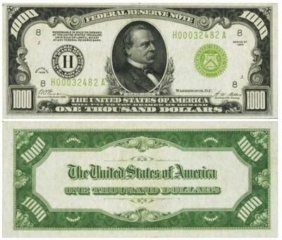 $1000 dollars
