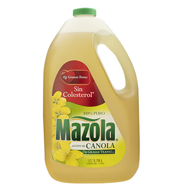 Mazola Aceite de Canola 3.78 Lts