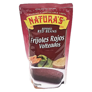 Natura's Frijoles Rojos Volteados
