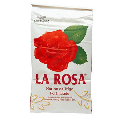 La Rosa Harina de Trigo 5 Lb