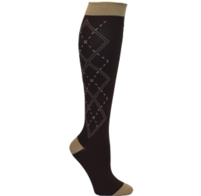 Mens Argyle Premium Compression Socks 💚