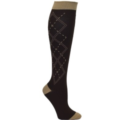 Mens Argyle Premium Compression Socks 💚