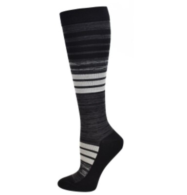 Men's Striped Premium Compression Sock 💚