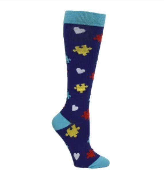 Premium Autism Awareness Fashion Compression sock