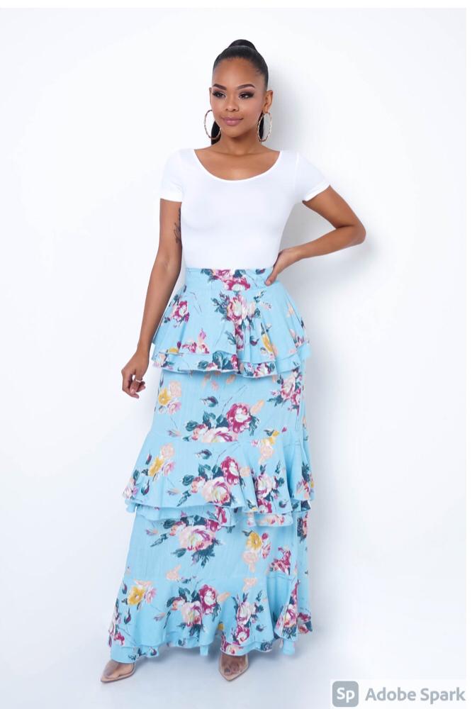 Charlene Maxi Skirt